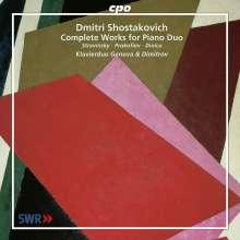 Dmitri Schostakowitsch (1906-1975): Die Werke für 2 Klaviere, CD