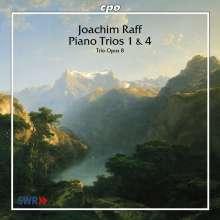 Joachim Raff (1822-1882): Klaviertrios Nr.1 & 4, CD