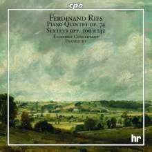 Ferdinand Ries (1784-1838): Klavierquintett op.74, CD