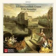Johann Gottlieb Graun (1703-1771): Triosonaten W.24,63,84,109,141, CD