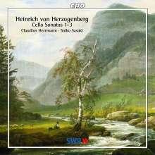 Heinrich von Herzogenberg (1843-1900): Cellosonaten Nr.1-3, CD
