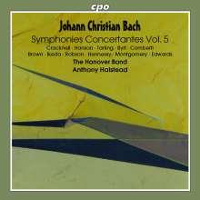 Johann Christian Bach (1735-1782): Konzertante Sinfonien Vol.5, CD