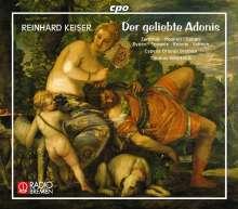 Reinhard Keiser (1674-1739): Der geliebte Adonis, 3 CDs