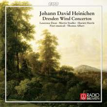 Johann David Heinichen (1683-1729): Dresdner Bläserkonzerte, CD