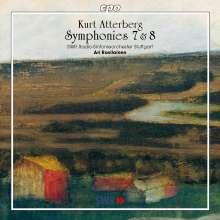 Kurt Atterberg (1887-1974): Symphonien Nr.7 & 8, CD