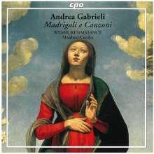 Andrea Gabrieli (1510-1586): Madrigali e Canzoni, CD
