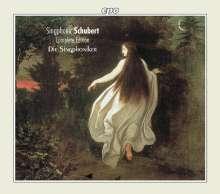 Franz Schubert (1797-1828): Sämtliche Ensembles für Männerstimmen, 5 CDs