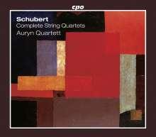 Franz Schubert (1797-1828): Sämtliche Streichquartette, 6 CDs