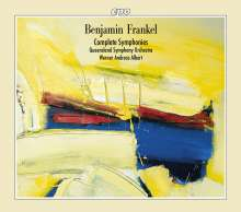 Benjamin Frankel (1906-1973): Symphonien Nr.1-8, 4 CDs