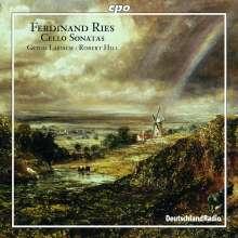 Ferdinand Ries (1784-1838): Cellosonaten opp.21 & 125, CD