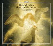 Heinrich Schütz (1585-1672): Kleine Geistliche Konzerte SWV 282-337(Gesamtaufnahme), 3 CDs