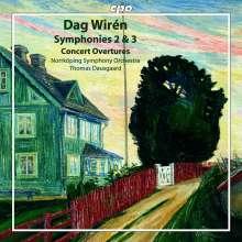 Dag Wiren (1905-1986): Symphonien Nr.2 & 3, CD