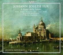 Johann Joseph Fux (1660-1741): Il Fonte della Salute (Oratorium op.23), 2 CDs