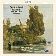 Ferruccio Busoni (1866-1924): Sonatinen für Klavier Nr.1-6, CD