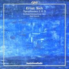 Ernst Toch (1887-1964): Symphonien Nr.2 & 3, CD