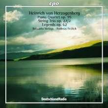 Heinrich von Herzogenberg (1843-1900): Klavierquartett op.95, CD