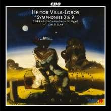 Heitor Villa-Lobos (1887-1959): Symphonien Nr.3 & 9, CD