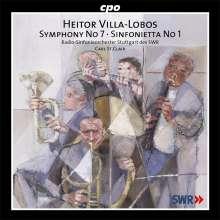 Heitor Villa-Lobos (1887-1959): Symphonie Nr.7, CD