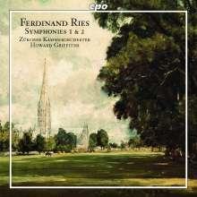 Ferdinand Ries (1784-1838): Symphonien Nr.1 & 2, CD