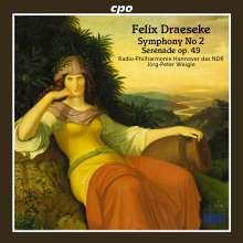 Felix Draeseke (1835-1913): Symphonie Nr.2, CD