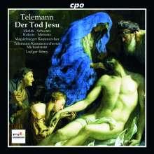 Georg Philipp Telemann (1681-1767): Der Tod Jesu (Passionskantate TWV 5:6), CD