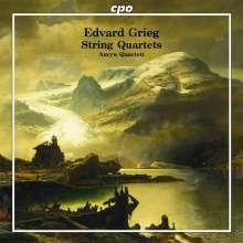 Edvard Grieg (1843-1907): Streichquartette Nr.1 & 2, CD