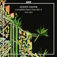 Joseph Haydn (1732-1809): Sämtliche Klaviertrios Vol.4, CD