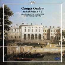 Georges Onslow (1784-1852): Symphonien Nr.1 & 3, CD
