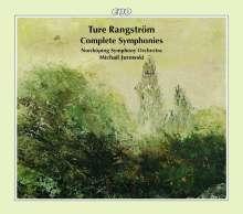 Ture Rangström (1884-1947): Symphonien Nr.1-4, 3 CDs