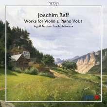 Joachim Raff (1822-1882): Violinsonaten Vol.1, CD
