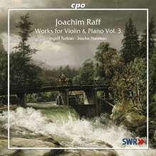 Joachim Raff (1822-1882): Violinsonaten Vol.3, CD
