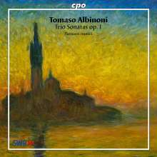 Tomaso Albinoni (1671-1751): Triosonaten op.1 Nr.1-12, CD