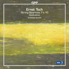 Ernst Toch (1887-1964): Streichquartette Nr.7 & 10, CD