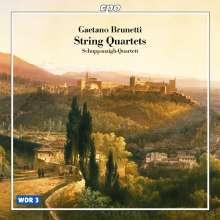 Gaetano Brunetti (1744-1798): 4 Streichquartette, CD