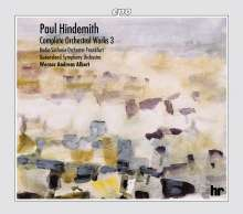 Paul Hindemith (1895-1963): Orchesterwerke Box 3, 4 CDs