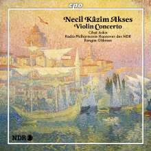 Necil Käzim Akses (1908-1999): Violinkonzert (1969), CD