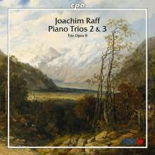 Joachim Raff (1822-1882): Klaviertrios Nr.2 & 3, CD