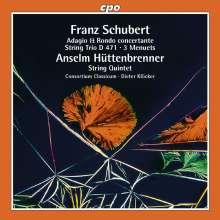 Anselm Hüttenbrenner (1794-1868): Streichquintett c-moll, CD