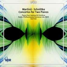 Alfred Schnittke (1934-1998): Konzert für 2 Klaviere, CD