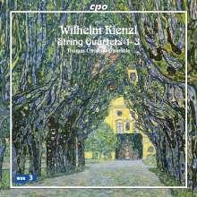 Wilhelm Kienzl (1857-1941): Streichquartette Nr.1-3, CD