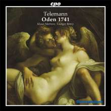 Georg Philipp Telemann (1681-1767): 24 Oden 1741, CD