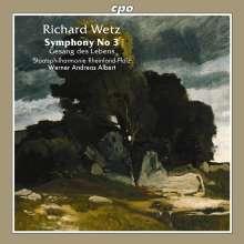 Richard Wetz (1875-1935): Symphonie Nr.3, CD