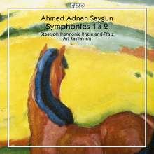 Ahmed Adnan Saygun (1907-1991): Symphonien Nr.1 & 2, CD
