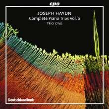 Joseph Haydn (1732-1809): Sämtliche Klaviertrios Vol.6, CD