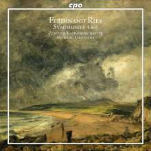 Ferdinand Ries (1784-1838): Symphonien Nr.4 & 6, CD
