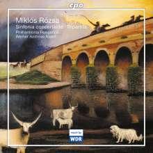 Miklos Rozsa (1907-1995): Sinfonia concertante op.29, CD