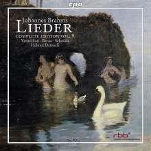 Johannes Brahms (1833-1897): Sämtliche Lieder Vol.9, CD