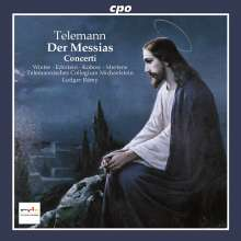 Georg Philipp Telemann (1681-1767): Der Messias, CD