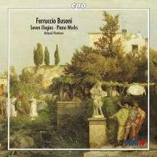 Ferruccio Busoni (1866-1924): Elegien Nr.1-7, CD