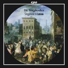 Orlando di Lasso (Lassus) (1532-1594): 20 Chansons,Madrigale,Lieder, CD